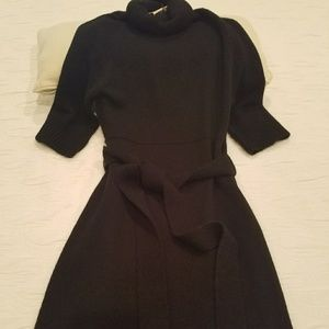 Dresses & Skirts - Cute Black Sweater Dress